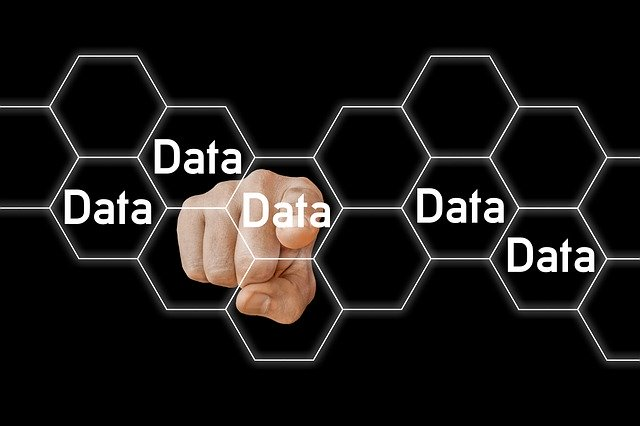 Data Block Chain Honeycomb Hexagon